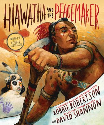 Cover image for Hiawatha and the Peacemaker