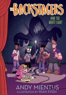 Cover image for The Backstagers and the ghost light
