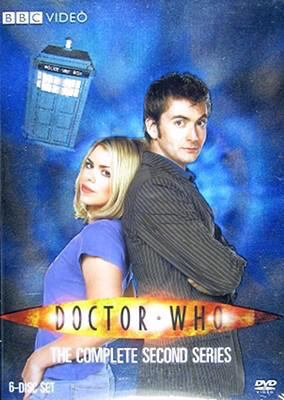 Cover image for Doctor Who. The complete second series