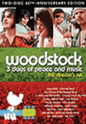 Cover image for Woodstock : 3 days of peace and music