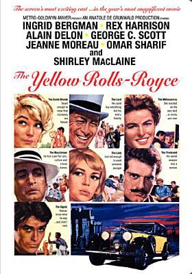 Cover image for The yellow Rolls-Royce