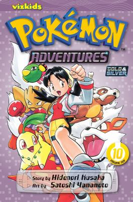 Cover image for Pokémon adventures. Vol. 10, Gold & silver