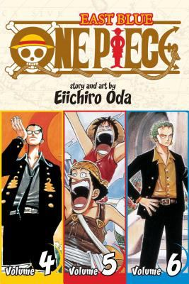 Cover image for One piece. East blue, Volume 4-5-6