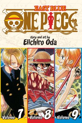 Cover image for One piece. East blue, Volume 7-8-9