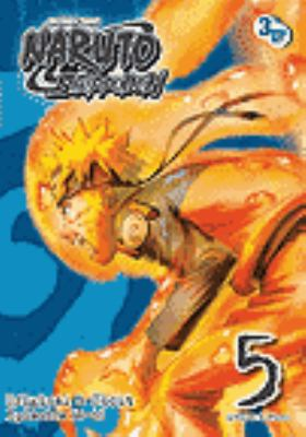 Cover image for Naruto shippuden. Set 5