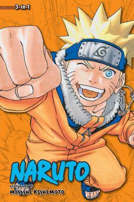 Cover image for Naruto 3-in-1. Volume 7