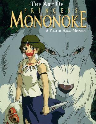 Cover image for The art of Princess Mononoke