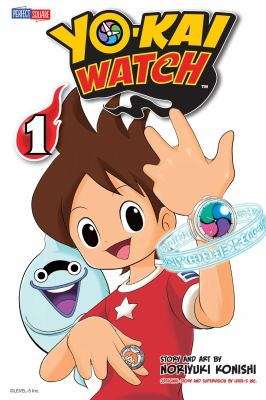 Cover image for Yo-kai watch. 1, [Nate's lucky day]