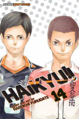 Cover image for Haikyu!! 14, Quitter's battle