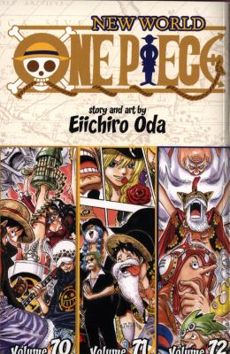 Cover image for One piece. 70-71-72, New world