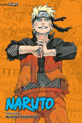 Cover image for Naruto 3-in-1. Volume 22