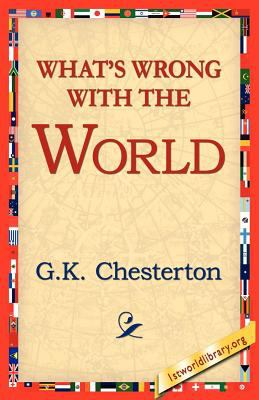 Cover image for What's wrong with the world