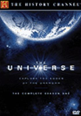 Cover image for The universe. The complete season one [explore the edges of the unknown]