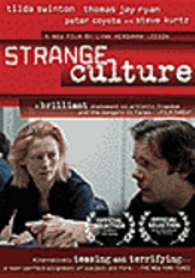 Cover image for Strange culture