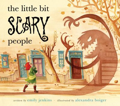Cover image for The little bit scary people