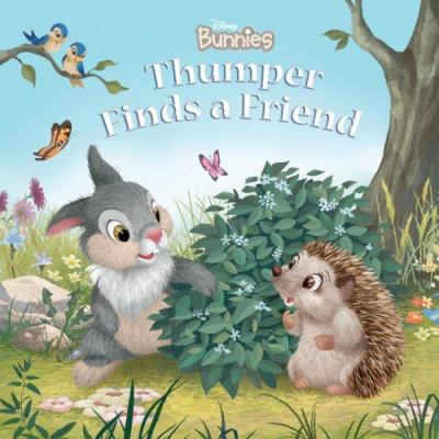 Cover image for Thumper finds a friend