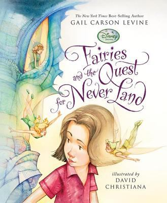 Cover image for Fairies and the quest for Never Land