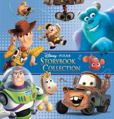 Cover image for Disney Pixar storybook collection.