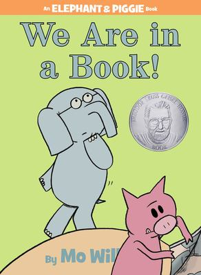 Cover image for We are in a book!
