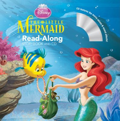 Cover image for The little mermaid : read-along storybook and CD