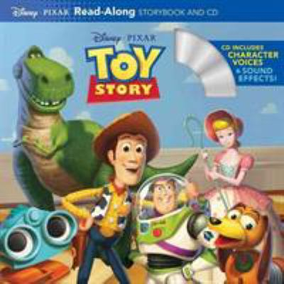 Cover image for Toy story read-along storybook and cd.