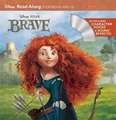 Cover image for Brave read-along storybook and CD