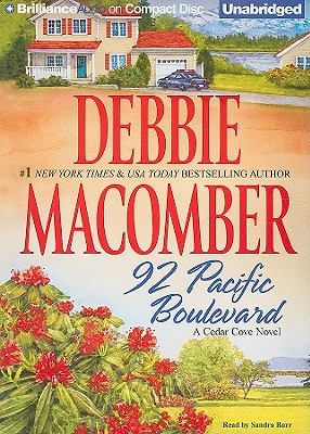 Cover image for 92 Pacific Boulevard a Cedar Cove novel