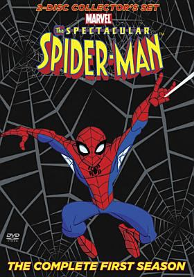 Cover image for The spectacular Spider-Man. The complete first season