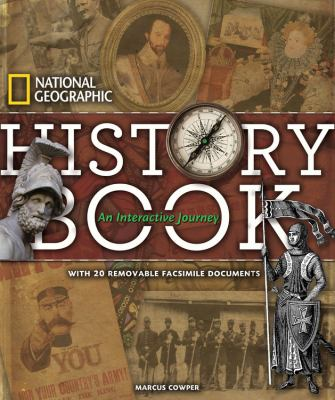 Cover image for History book : an interactive journey