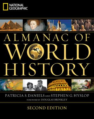 Cover image for National Geographic almanac of world history