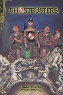 Cover image for Ghostbusters. Ghost busted