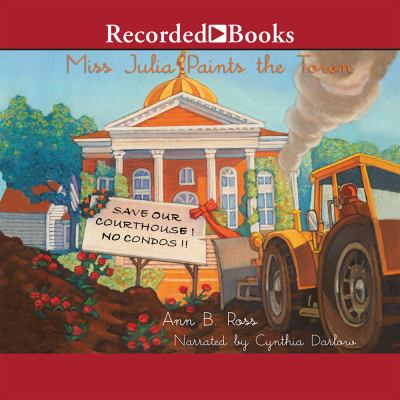 Cover image for Miss Julia paints the town