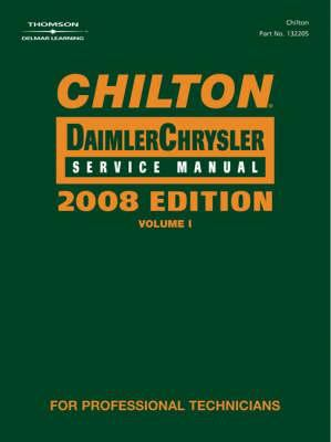 Cover image for Chilton Chrysler service manual.