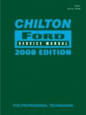 Cover image for Chilton Ford service manual.