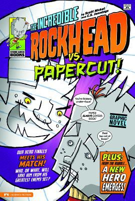 Cover image for The incredible Rockhead vs Papercut!