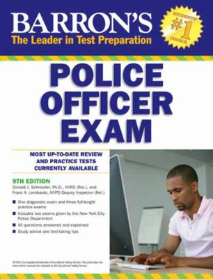 Cover image for Police officer exam