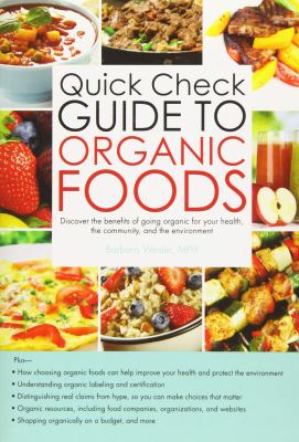 Cover image for Barron's quick check guide to organic foods