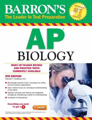 Cover image for Barron's AP biology