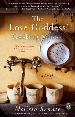 Cover image for The love goddess' cooking school