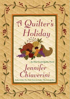 Cover image for A quilter's holiday