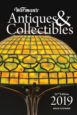 Cover image for Warman's antiques & collectibles 2019