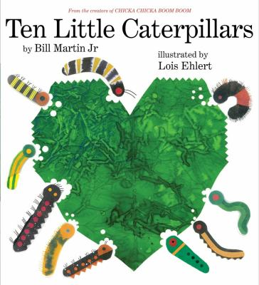 Cover image for Ten little caterpillars