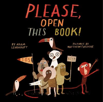 Cover image for Please, open this book!