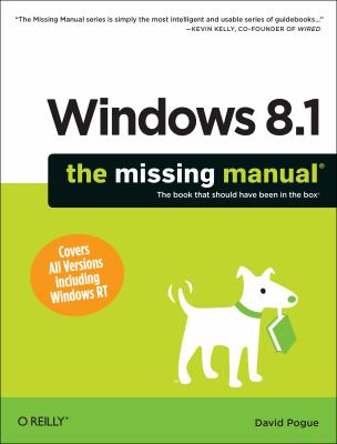 Cover image for Windows 8.1 : the missing manual