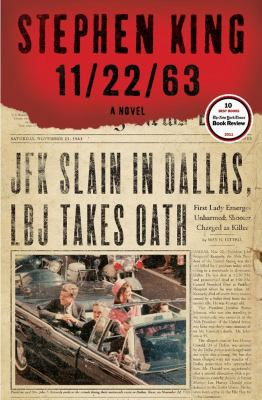 Cover image for 11/22/63 : a novel