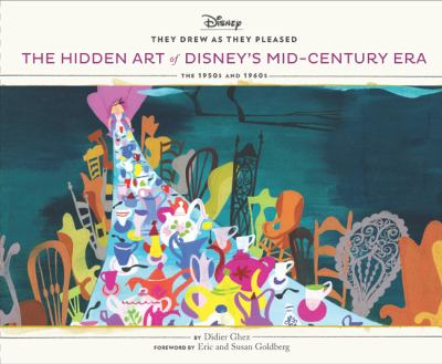 Cover image for The hidden art of Disney's mid-century era : the 1950s and 1960s