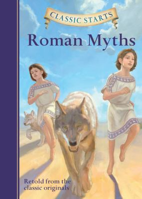 Cover image for Roman myths