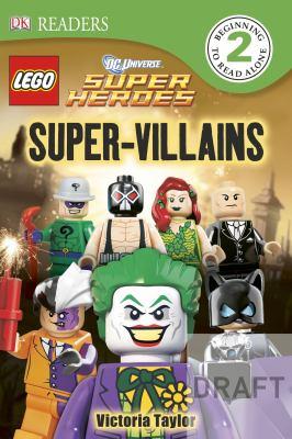 Cover image for Super-villains