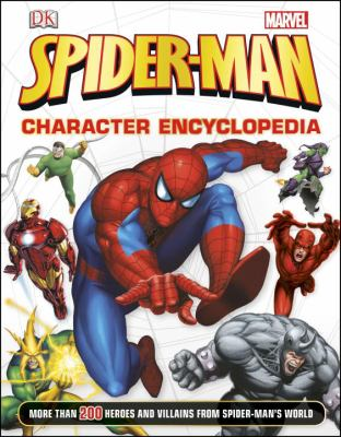 Cover image for Spider-man character encyclopedia