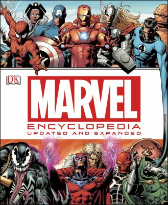 Cover image for Marvel encyclopedia : the definitive guide to the characters of the Marvel universe.